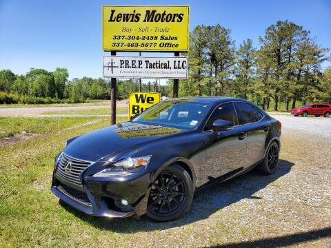 2015 Lexus IS 250 for sale at Lewis Motors LLC in Deridder LA