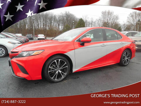2018 Toyota Camry for sale at GEORGE'S TRADING POST in Scottdale PA