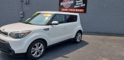 2015 Kia Soul for sale at Stach Auto in Janesville WI