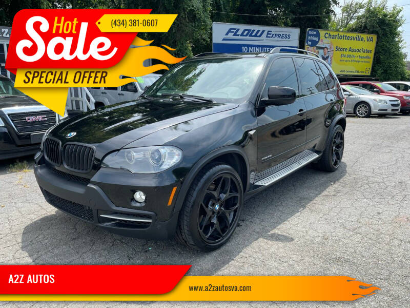 2009 BMW X5 for sale at A2Z AUTOS in Charlottesville VA