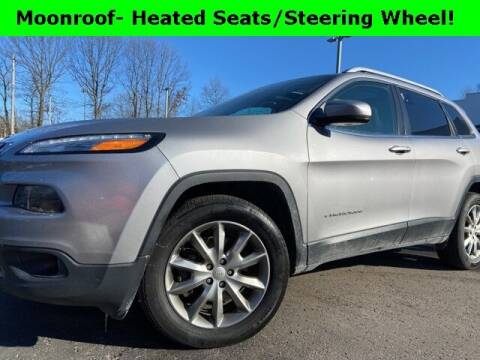 2018 Jeep Cherokee for sale at Mark Sweeney Buick GMC in Cincinnati OH