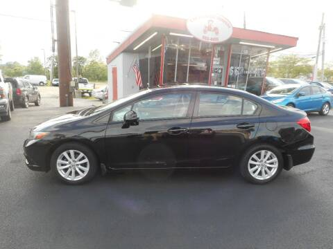 2012 Honda Civic for sale at The Carriage Company in Lancaster OH