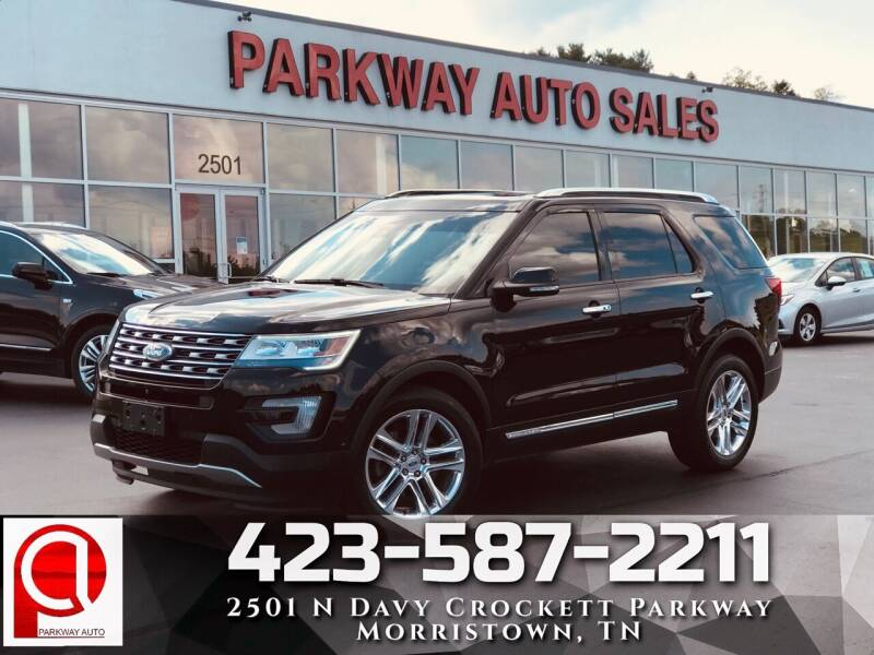 2016 Ford Explorer for sale at Parkway Auto Sales, Inc. in Morristown TN