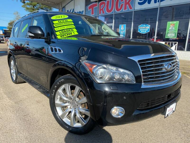 2012 Infiniti QX56 for sale at Xtreme Truck Sales in Woodburn OR