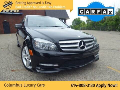 2011 Mercedes-Benz C-Class for sale at Columbus Luxury Cars in Columbus OH