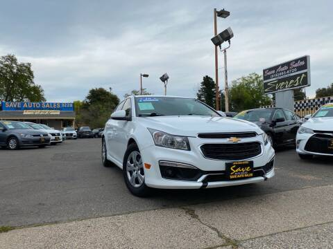 2016 Chevrolet Cruze Limited for sale at Save Auto Sales in Sacramento CA