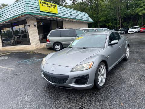 2010 Mazda RX-8 for sale at Diana Rico LLC in Dalton GA