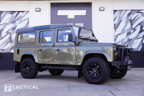 1985 Land Rover Defender for sale at Tactical Fleet in Addison TX