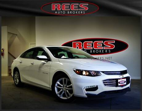 2016 Chevrolet Malibu for sale at REES AUTO BROKERS in Washington UT
