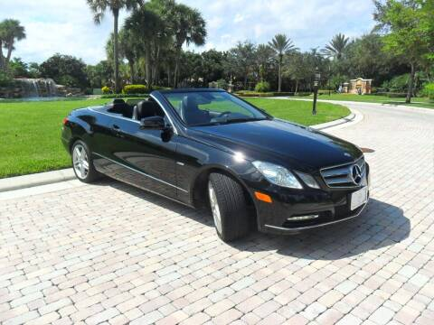 2012 Mercedes-Benz E-Class for sale at AUTO HOUSE FLORIDA in Pompano Beach FL