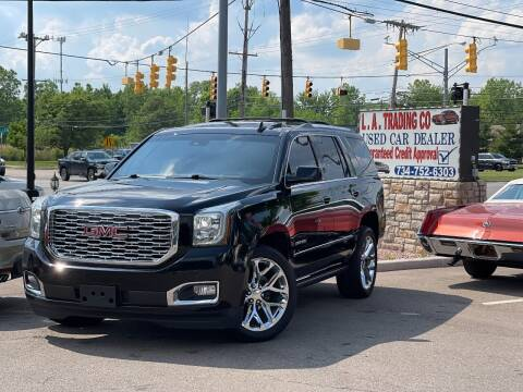 2018 GMC Yukon for sale at L.A. Trading Co. Woodhaven in Woodhaven MI