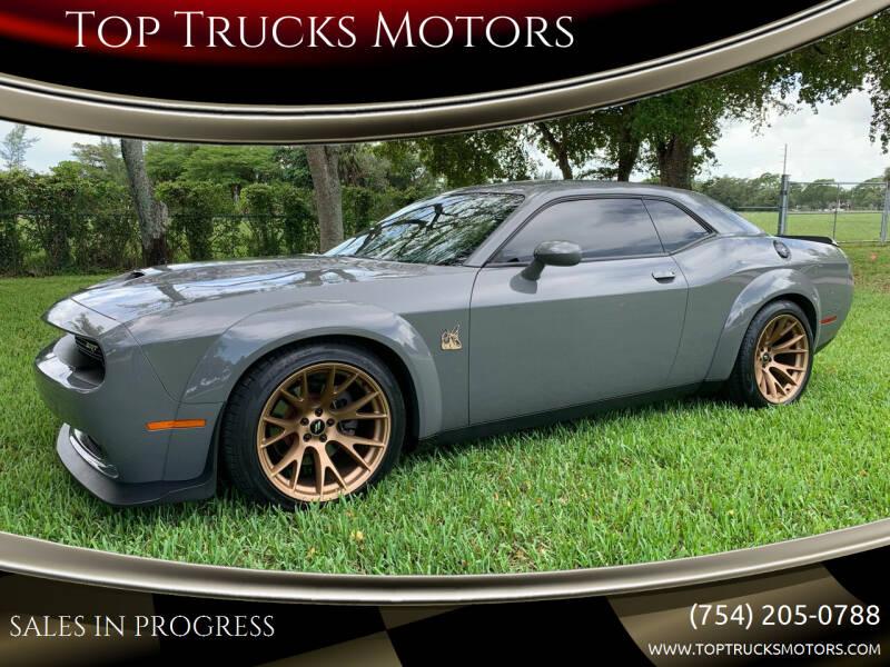 2019 Dodge Challenger for sale at Top Trucks Motors in Pompano Beach FL