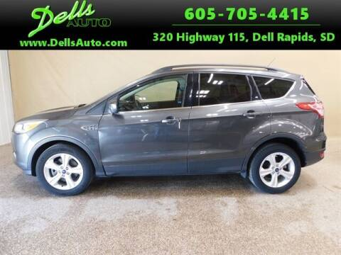 2016 Ford Escape for sale at Dells Auto in Dell Rapids SD