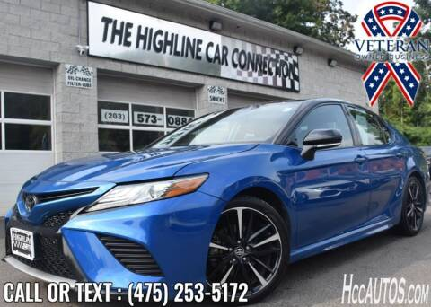 2019 Toyota Camry for sale at The Highline Car Connection in Waterbury CT
