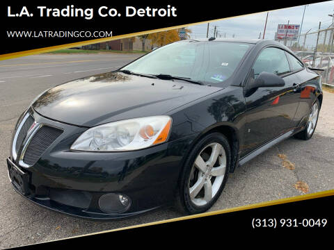 2008 Pontiac G6 for sale at L.A. Trading Co. Woodhaven - L.A. Trading Co. Detroit in Detroit MI