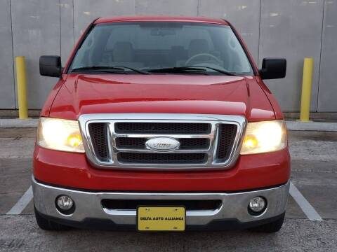 2008 Ford F-150 for sale at Delta Auto Alliance in Houston TX