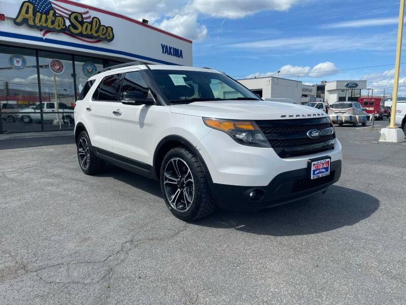 2014 Ford Explorer for sale at Better All Auto Sales in Yakima WA