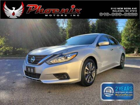 2017 Nissan Altima for sale at Phoenix Motors Inc in Raleigh NC