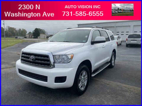 2009 Toyota Sequoia for sale at Auto Vision Inc. in Brownsville TN