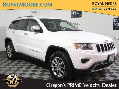 2014 Jeep Grand Cherokee for sale at Royal Moore Custom Finance in Hillsboro OR
