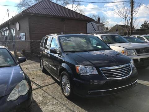 2012 Chrysler Town and Country for sale at Chambers Auto Sales LLC in Trenton NJ