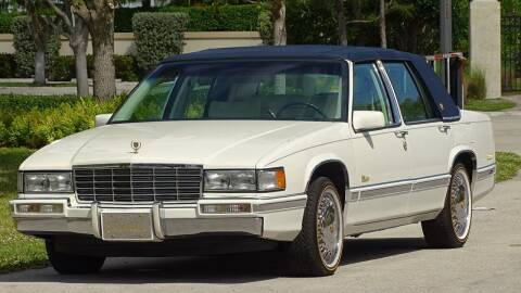 1991 Cadillac DeVille for sale at Premier Luxury Cars in Oakland Park FL