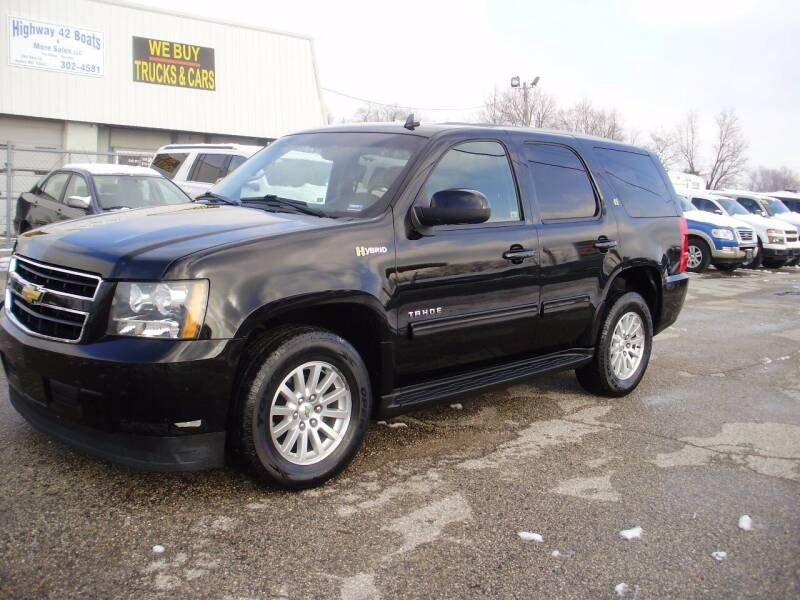 2013 Chevrolet Tahoe Hybrid for sale at HIGHWAY 42 CARS BOATS & MORE in Kaiser MO