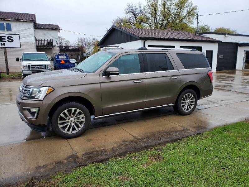2018 Ford Expedition MAX for sale at GOOD NEWS AUTO SALES in Fargo ND