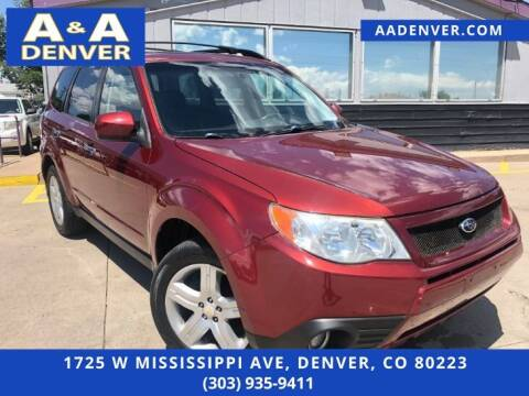 2009 Subaru Forester for sale at A & A AUTO LLC in Denver CO