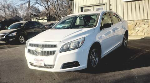 2013 Chevrolet Malibu for sale at QS Auto Sales in Sioux Falls SD