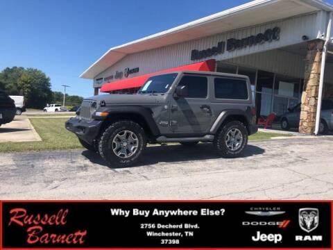 2020 Jeep Wrangler for sale at Russell Barnett Chrysler Dodge Jeep Ram in Winchester TN