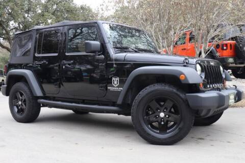 2012 Jeep Wrangler Unlimited for sale at SELECT JEEPS INC in League City TX