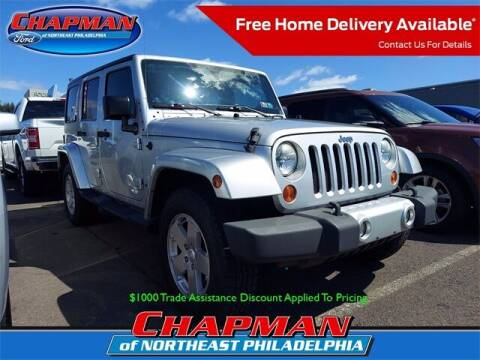 2011 Jeep Wrangler Unlimited for sale at CHAPMAN FORD NORTHEAST PHILADELPHIA in Philadelphia PA