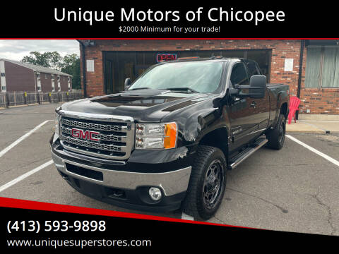 2013 GMC Sierra 2500HD for sale at Unique Motors of Chicopee in Chicopee MA