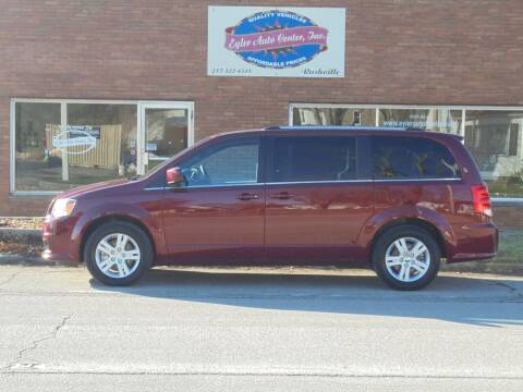 2019 Dodge Grand Caravan for sale at Eyler Auto Center Inc. in Rushville IL