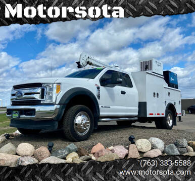 2017 Ford F-550 Super Duty for sale at Motorsota in Becker MN