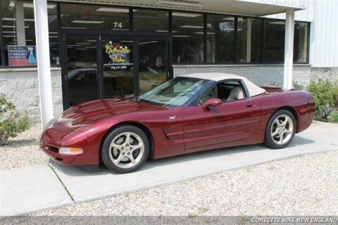 2003 Chevrolet Corvette for sale at Corvette Mike New England in Carver MA