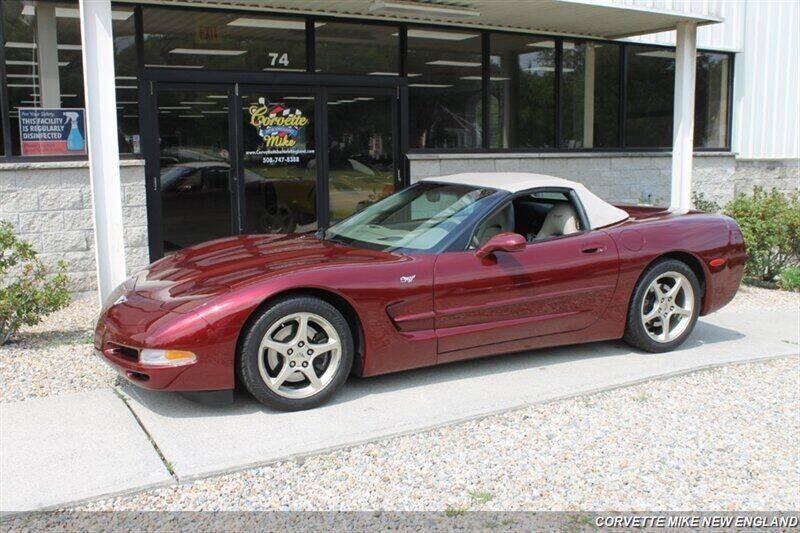2003 Chevrolet Corvette for sale at Corvette Mike New England in Carver MA