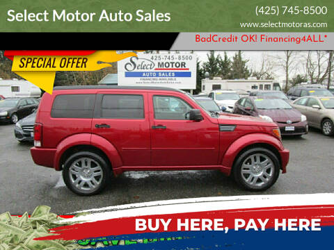 2008 Dodge Nitro for sale at Select Motor Auto Sales in Lynnwood WA
