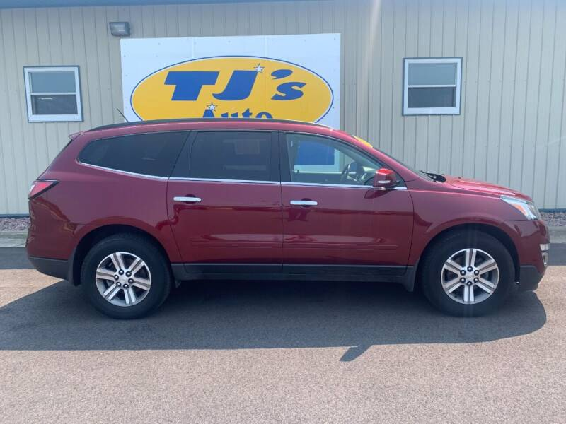 2015 Chevrolet Traverse for sale at TJ's Auto in Wisconsin Rapids WI