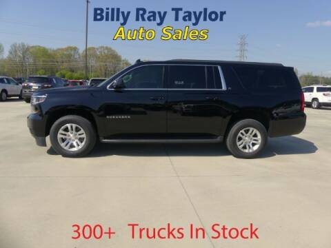 2018 Chevrolet Suburban for sale at Billy Ray Taylor Auto Sales in Cullman AL