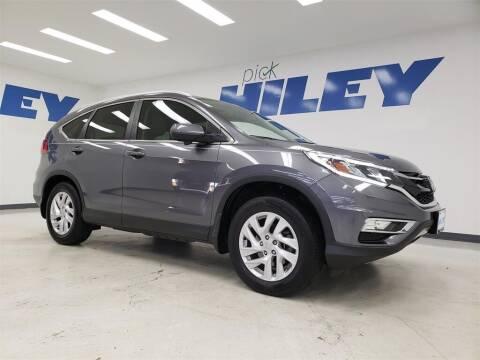2015 Honda CR-V for sale at HILEY MAZDA VOLKSWAGEN of ARLINGTON in Arlington TX