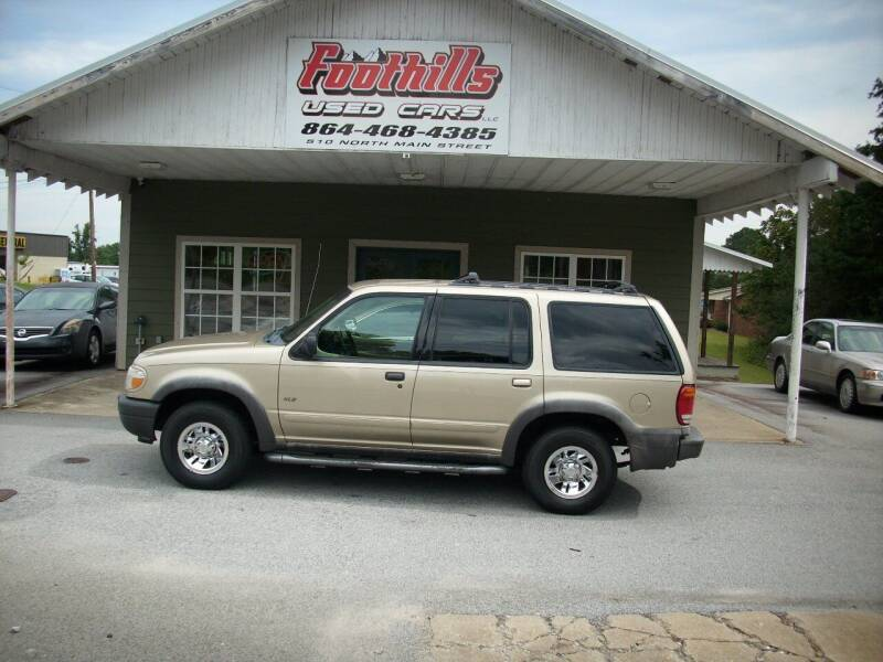 2000 Ford Explorer for sale at Foothills Used Cars LLC in Campobello SC
