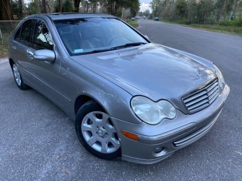 2006 Mercedes-Benz C-Class for sale at Next Autogas Auto Sales in Jacksonville FL