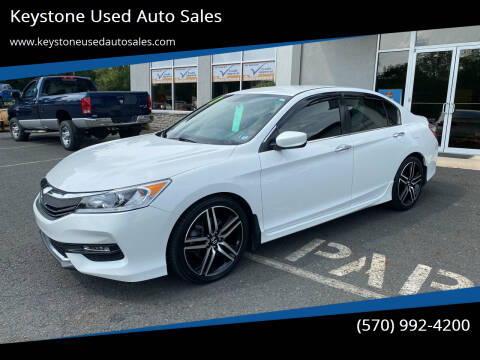 2017 Honda Accord for sale at Keystone Used Auto Sales in Brodheadsville PA