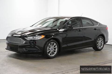 2017 Ford Fusion for sale at Modern Motorcars in Nixa MO