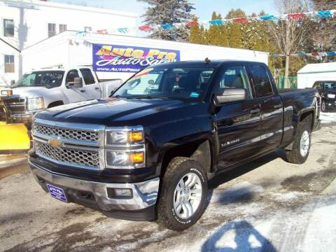 2014 Chevrolet Silverado 1500 for sale at Auto Pro Auto Sales in Lewiston ME
