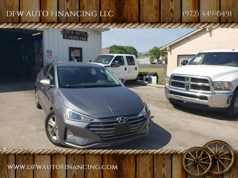 2020 Hyundai Elantra for sale at Bad Credit Call Fadi in Dallas TX