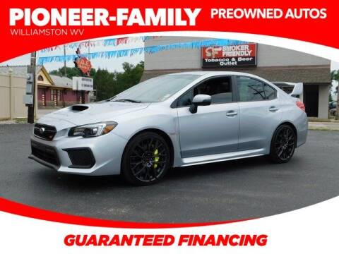 2019 Subaru WRX for sale at Pioneer Family preowned autos in Williamstown WV
