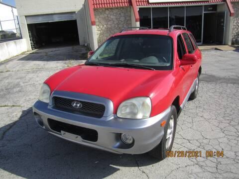 2004 Hyundai Santa Fe for sale at Competition Auto Sales in Tulsa OK